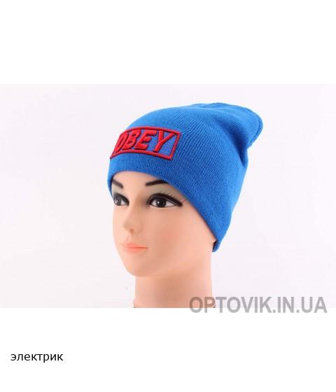 Детская вязаная шапка Obey