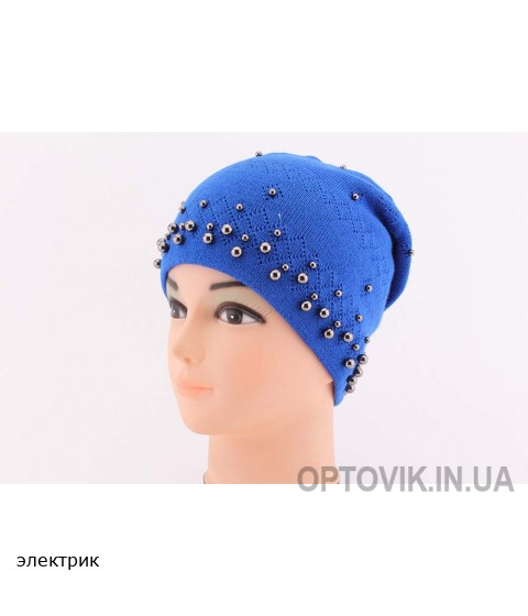Детская вязаная шапка Waleria