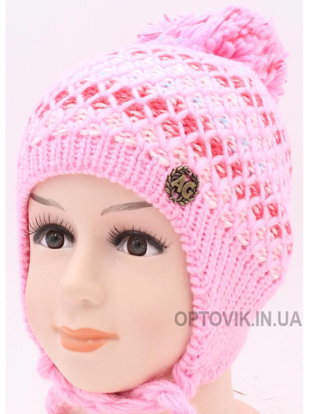 Детская вязаная шапка D23228-46-50