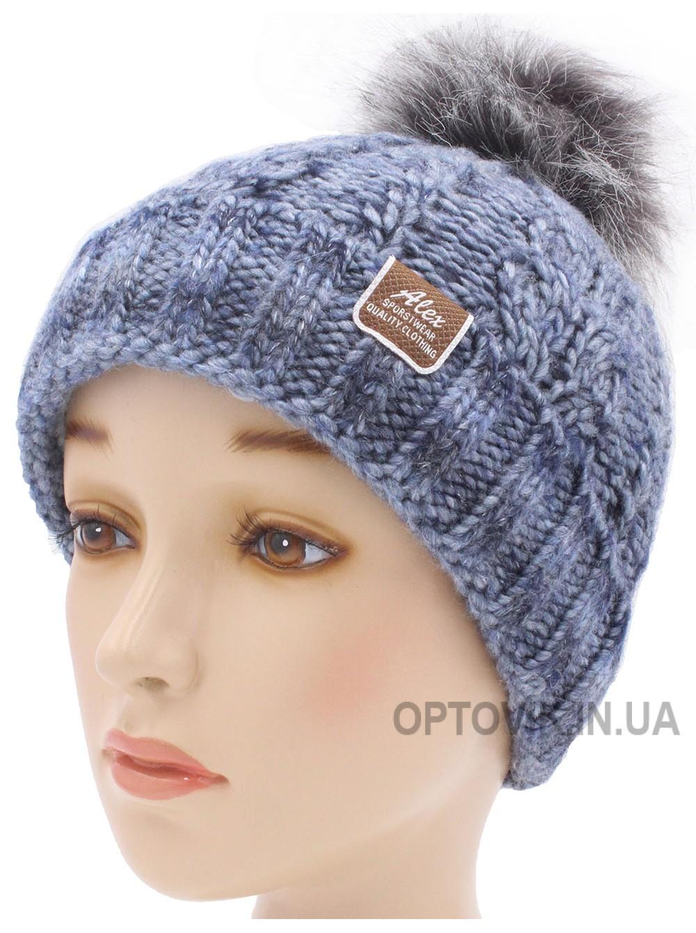 Детская вязаная шапка D23928-48-50