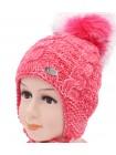 Детская вязаная шапка Принцесса D42727-44-48