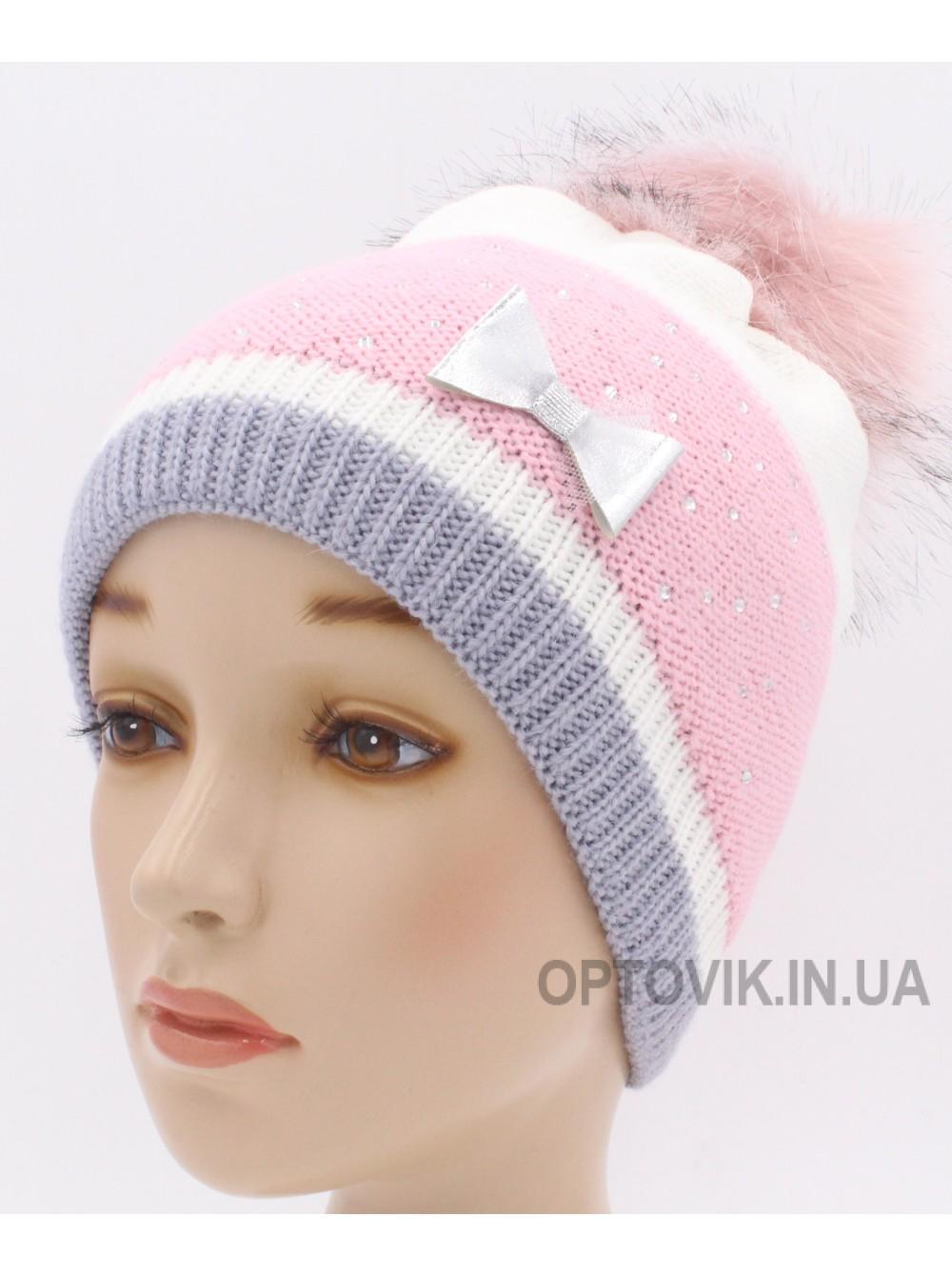 Детская вязаная шапка Ариэль D45527-48-52