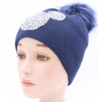 Детская вязаная шапка Алмаз D46030-48-52