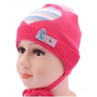 Детская вязаная шапка Бейби DV1117-44-48