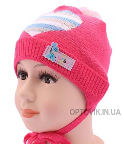 Детская вязаная шапка DV1117-44-48