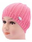 Детская вязаная шапка Ажур DV1416-46-50