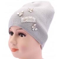 Детская вязаная шапка Бабочка DV318-46-50