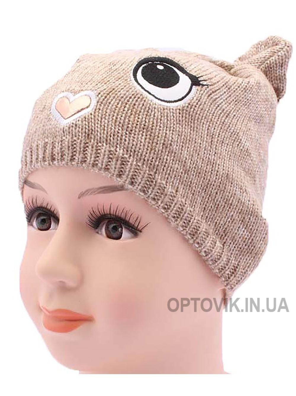 Детская вязаная шапка Милашка DV420-44-48