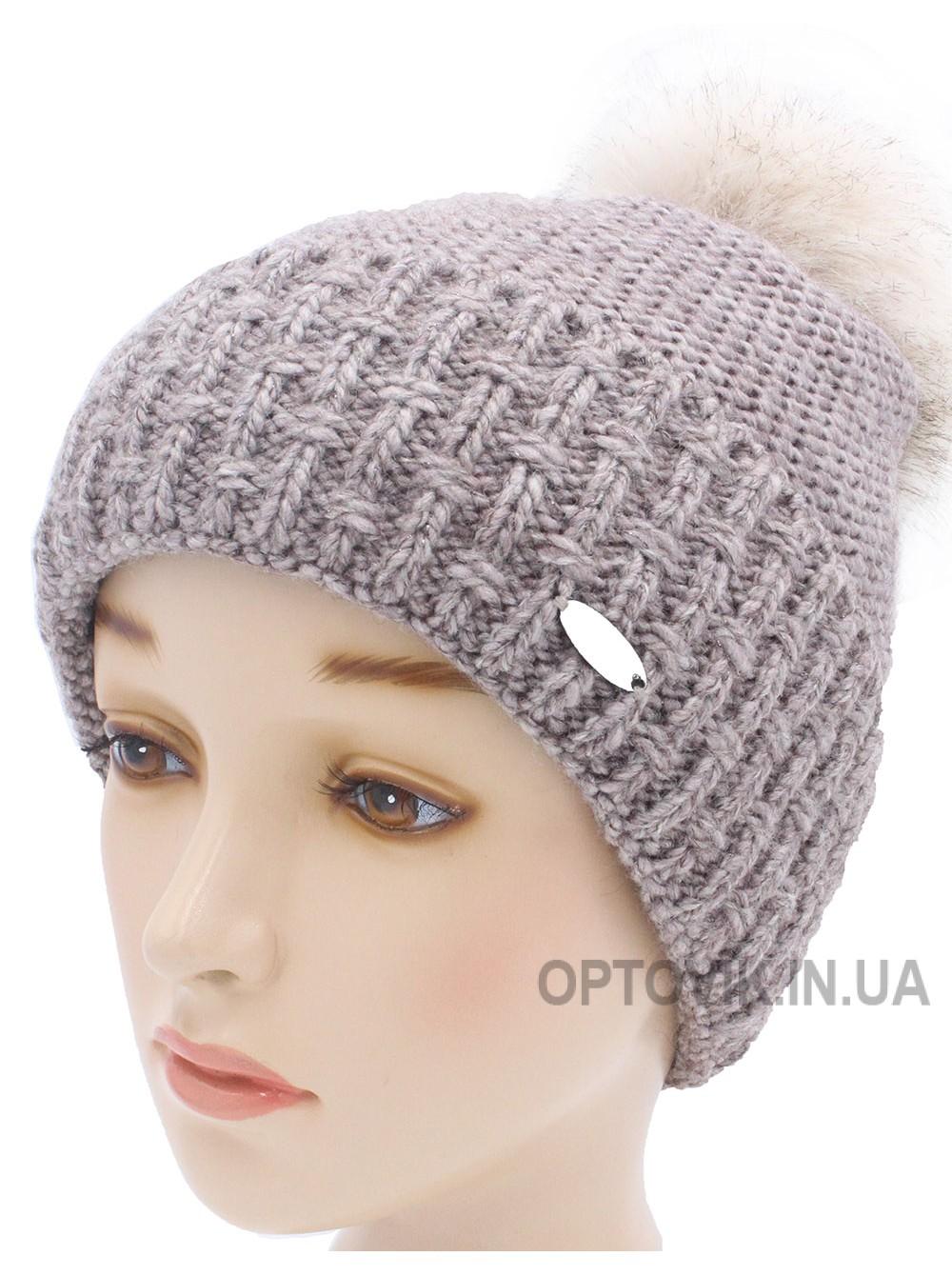 Детская вязаная шапка София W21130-50-56