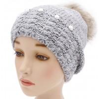 Детская вязаная шапка W23630-52-56