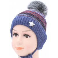 Детская вязаная шапка Стар D40629-44-48
