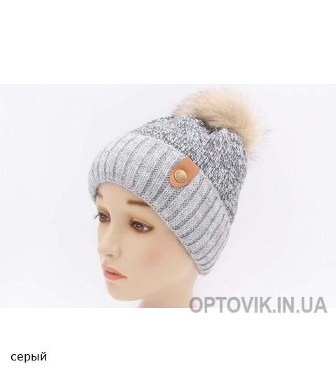 Детская вязаная шапка Геймер D41527-50-54