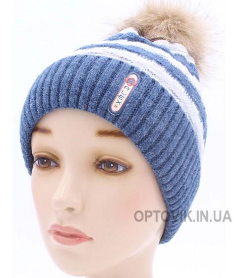 Детская вязаная шапка D41927-50-54