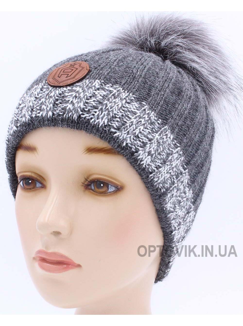 Детская вязаная шапка D42228-48-52
