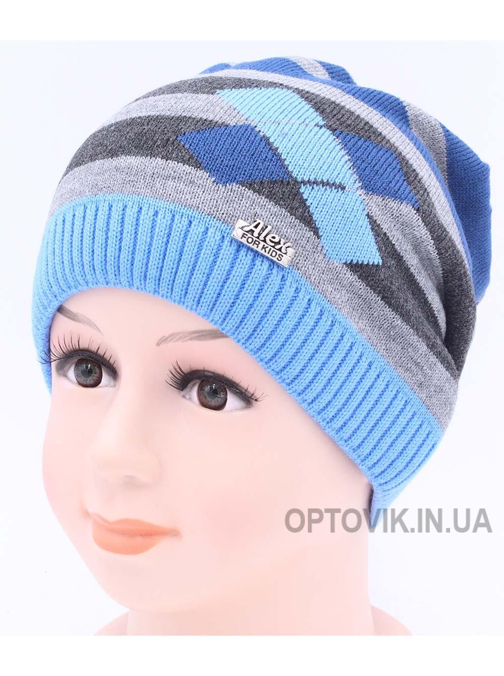 Детская вязаная шапка D42423-46-50