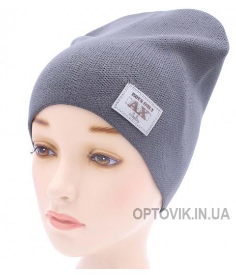 Детская вязаная шапка Бой D44823-48-52