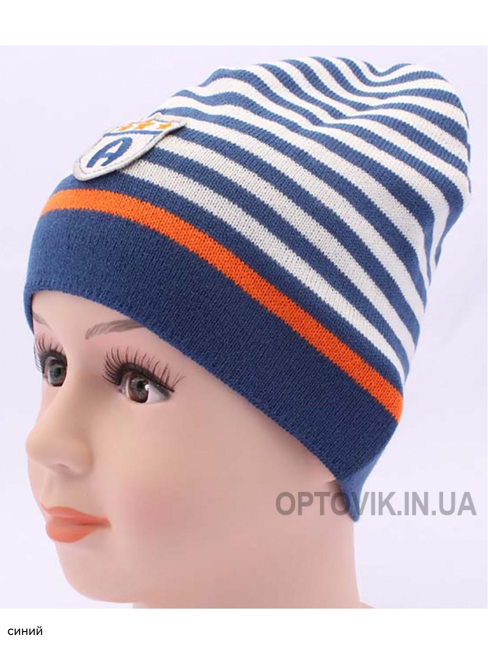 Детская вязаная шапка Алекс DV117-46-50