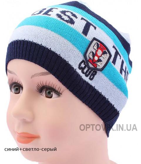Детская вязаная шапка Бест DV217-46-50