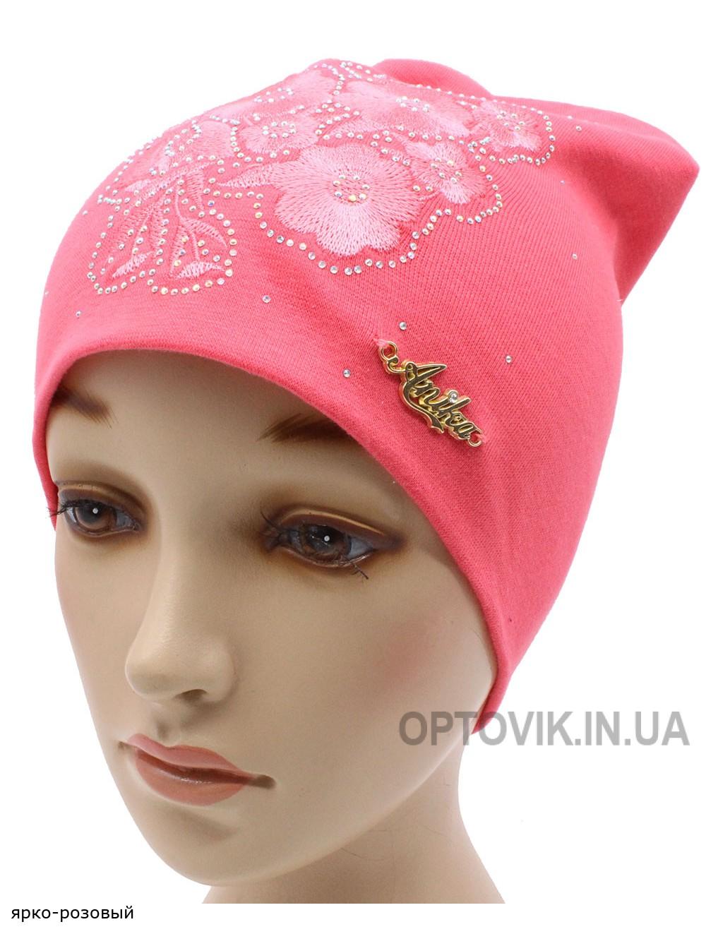 Детская трикотажная шапка Веточка