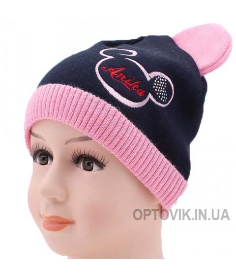 Детская вязаная шапка Дисней