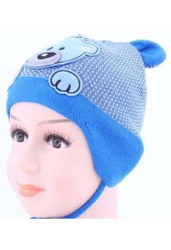 Детская вязаная шапка Бадди