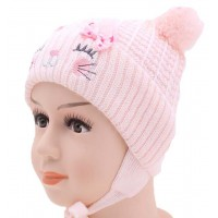 Детская вязаная шапка 116924-44-46