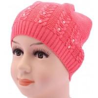 Детская вязаная шапка BVA00909-44-48
