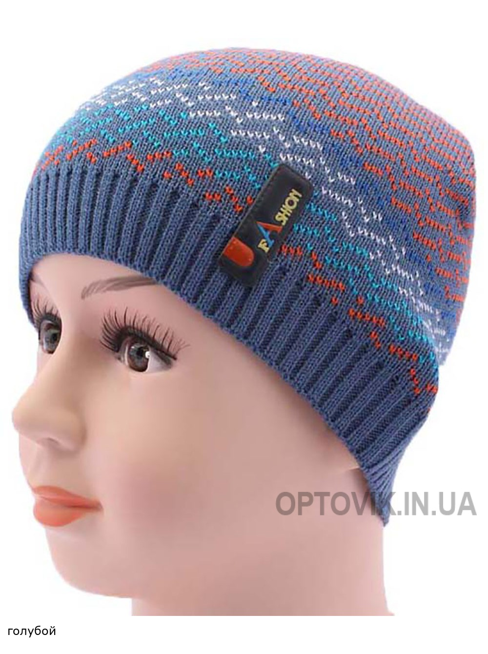 Детская вязаная шапка BVA01509-46-50