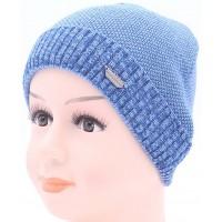Детская вязаная шапка BVA02210-44-48