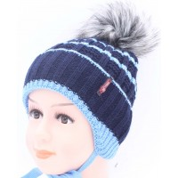 Детская вязаная шапка BVW00727-48-54