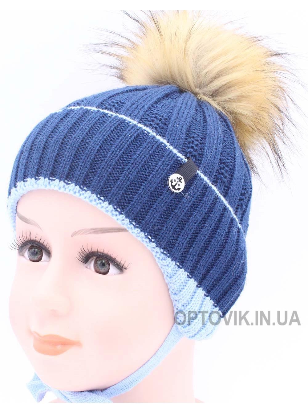 Детская вязаная шапка BVW00924-48-54