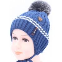 Детская вязаная шапка BVW01227-48-54