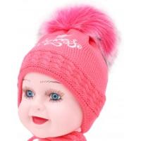 Детская вязаная шапка Бейби D57432-42-44