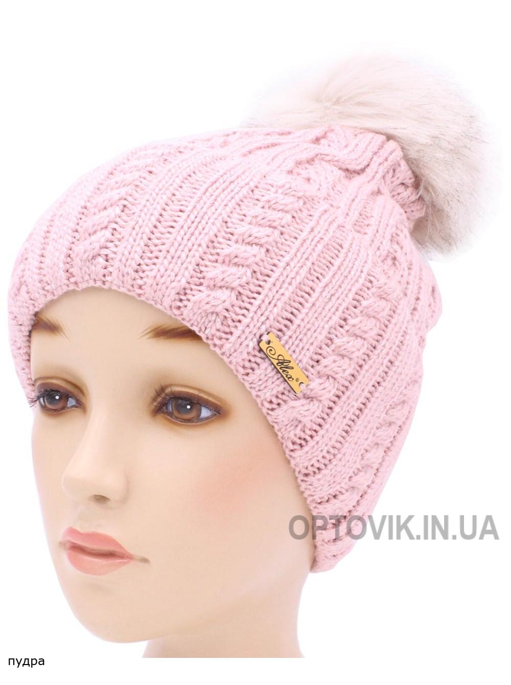 Детская вязаная шапка Волна W30335-52-56