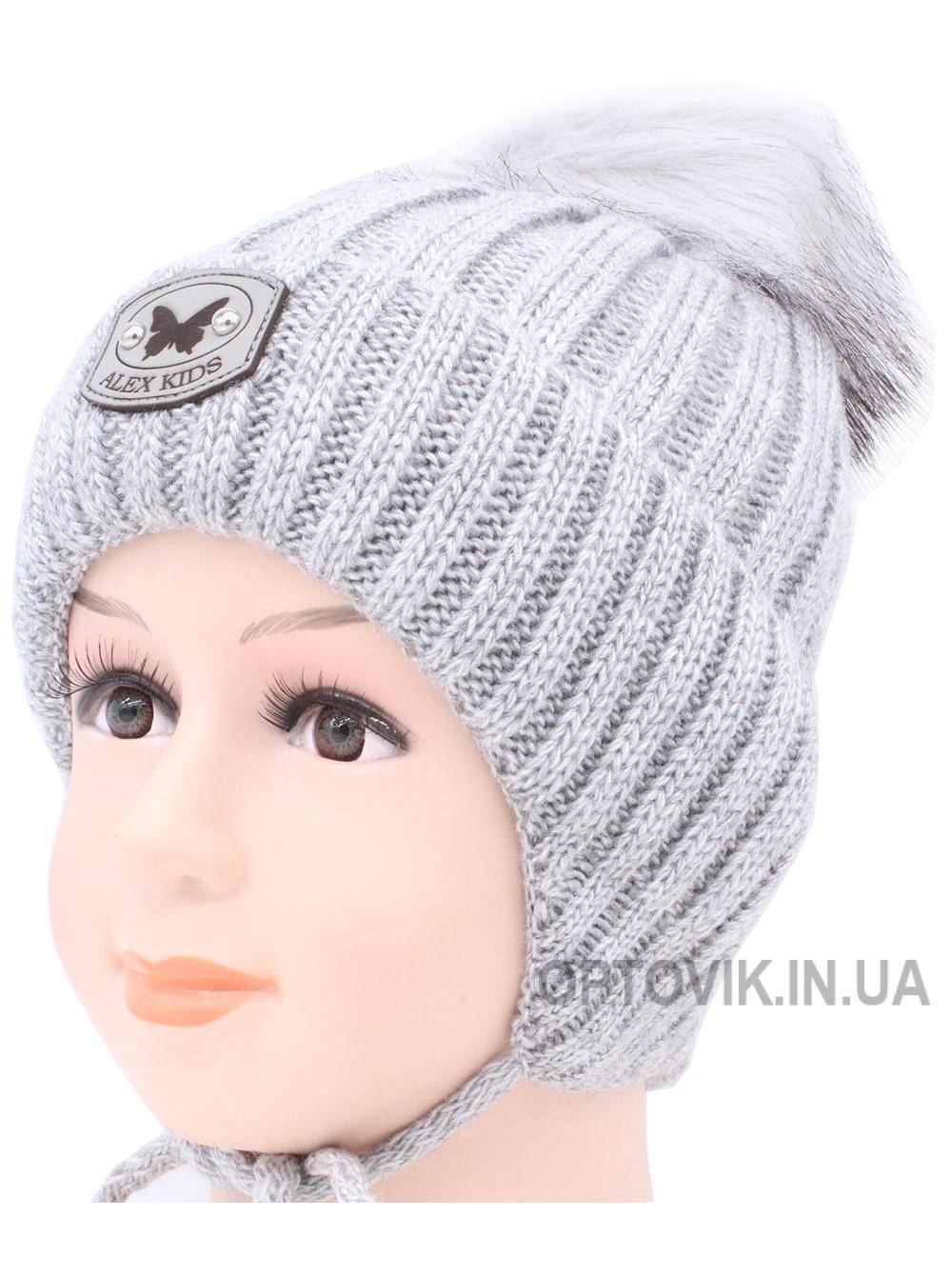 Детская вязаная шапка Глория D55632-46-50