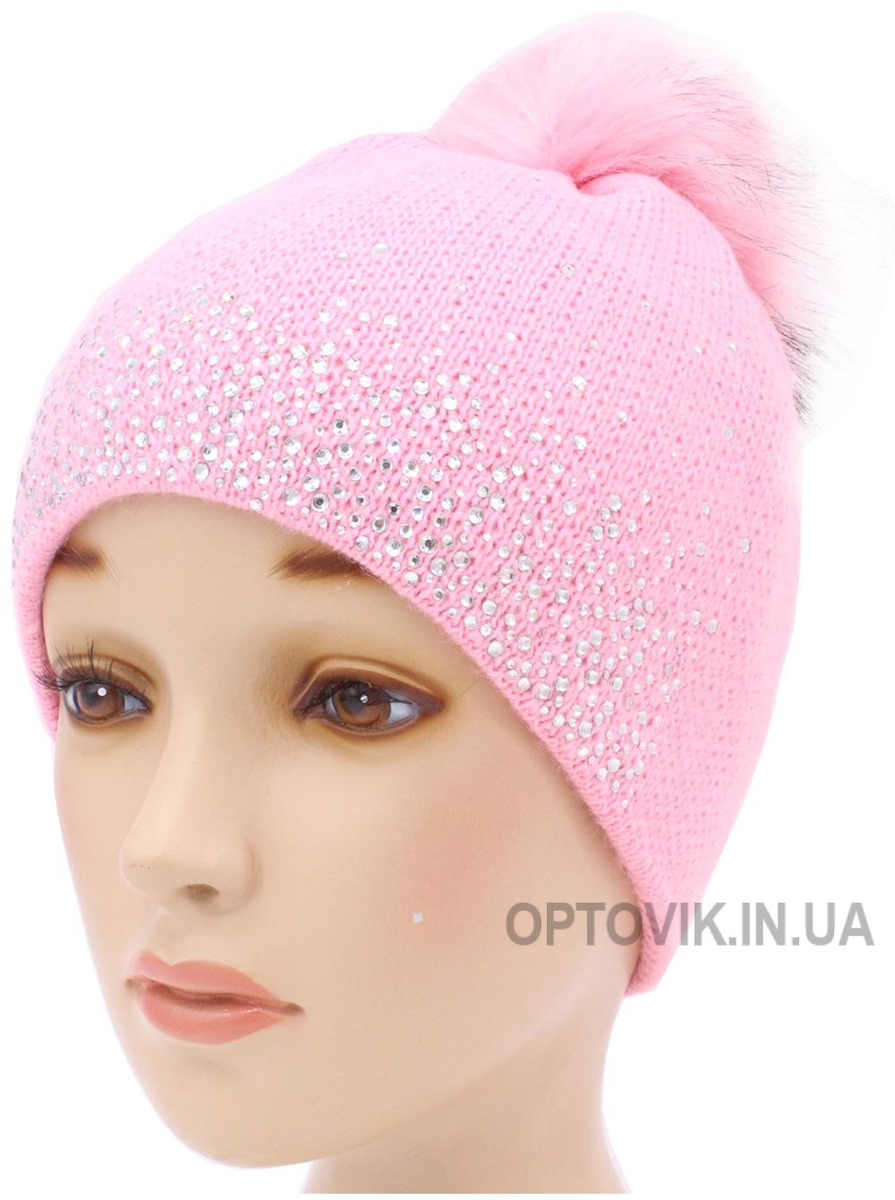 Детская вязаная шапка Кристалл D51232-48-52