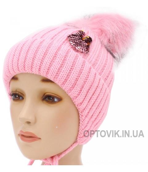 Детская вязаная шапка Молли D57036-48-52