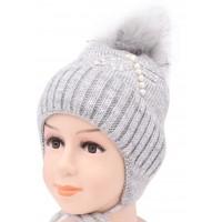 Детская вязаная шапка Стрекоза D52634-46-50