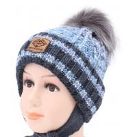 Детская вязаная шапка Дэвид D50836-46-50