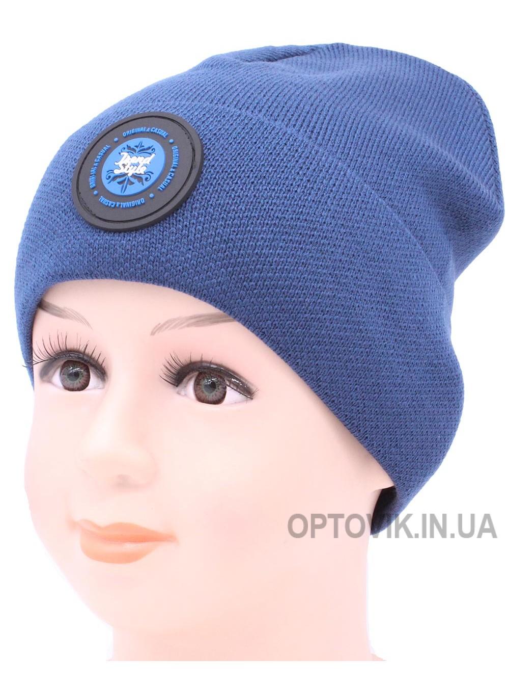 Детская вязаная шапка Крис D53729-48-52