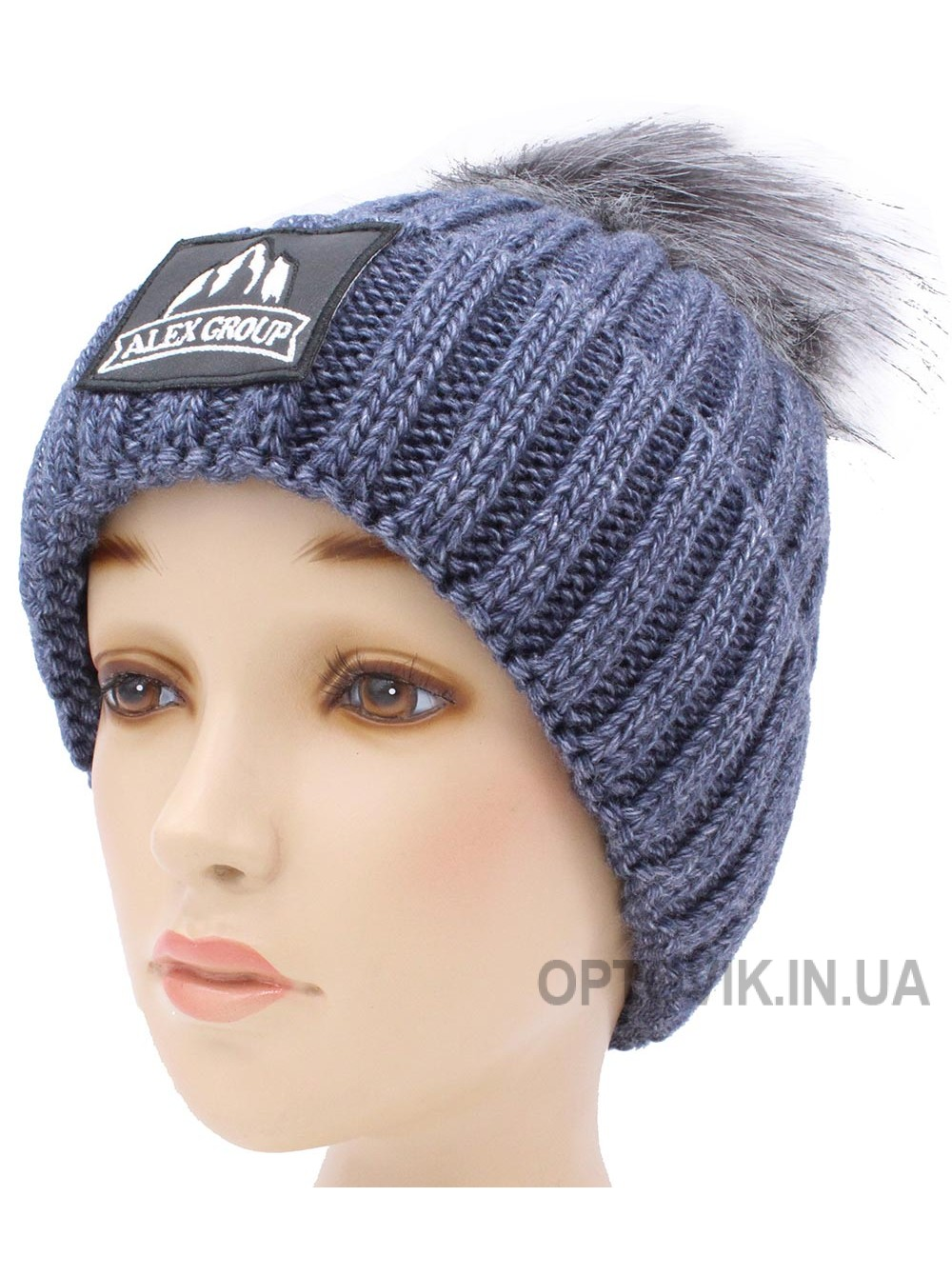 Детская вязаная шапка Майк D55933-50-54