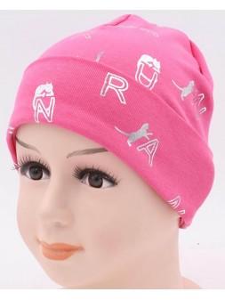 Детская трикотажная шапка Ася