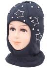 Детский вязаный шлем Венера W-3d-48-52-54