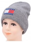 Детская вязаная шапка Толик BVW-32-50-54