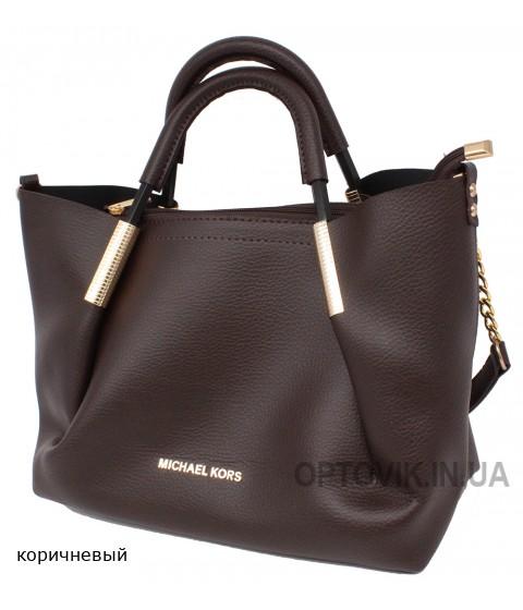 Женская модельная сумка Michael Kors кожзам 33х25х16 - Mi104-117