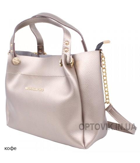 Женская модельная сумка Michael Kors кожзам 34х24х15 -Mi106-117