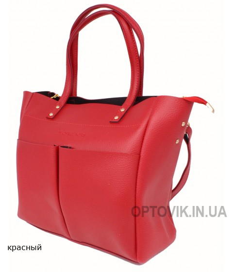 Женская модельная сумка Michael Kors кожзам 35х29х13 - Mi107-117
