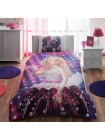 Комплект постельного белья Tac Disney Barbie Rock N Royal №14227