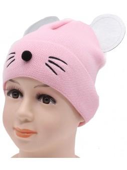 Детская вязаная шапка Минни DV11425-44-48