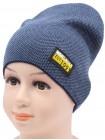 Детская вязаная шапка Спорт DV10222-48-52